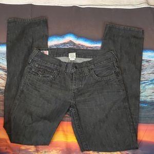 True religion Ricky black men's jeans size 31